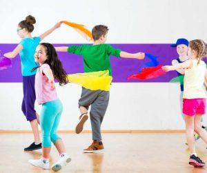 Dança para crianças - Projetos Educativos