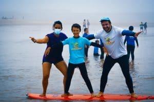 Campos de Férias do Trevo - Equipa de Surf