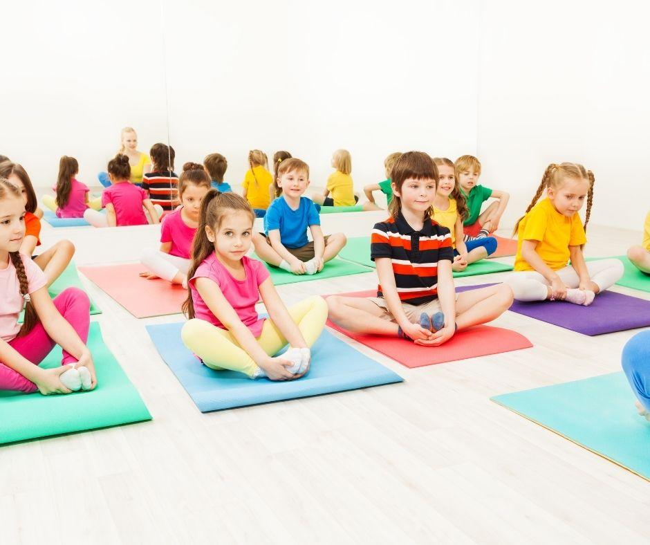 Yoga para crianca - Projetos Educativos