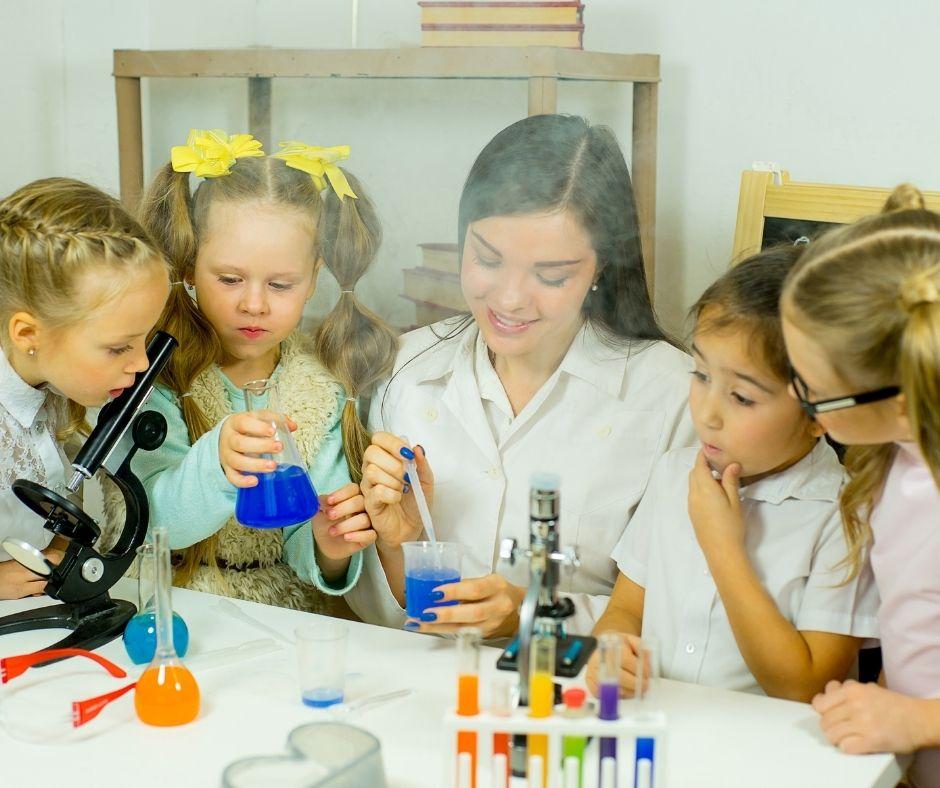 Ciência para crianças - Sucesso Escolar