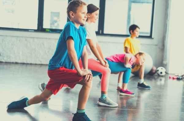 Ginástica para crianças - Corpo e Movimento - AEC