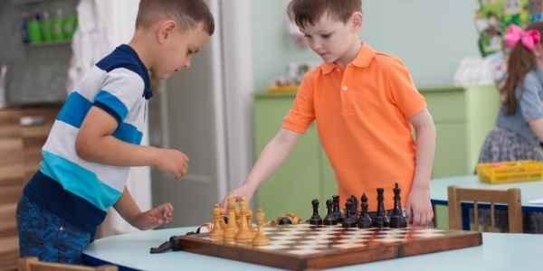 Xadrez para crianças - aula