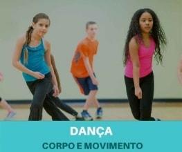 Dança para crianças - Corpo e Movimento