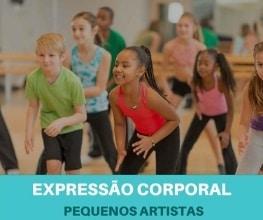 Expressão Corporal para crianças - Pequenos Artistas