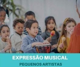 Expressão Musical para crianças - Pequenos Artistas