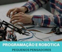 Programação e Robótica para crianças - Pequenos Pensadores